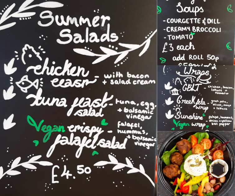 New Summer Menu!