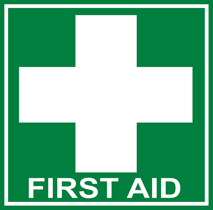 First Aid At Work - 10th -12th Dec 2018
